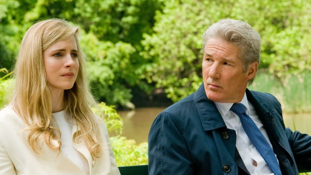 Richard Gere and Brit Marling in Arbitrage