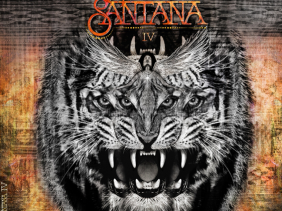Santana IV - album cover - profile on the artist and latest album