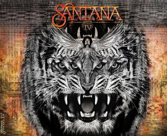 Santana IV - album cover - profile on the artist and latest album