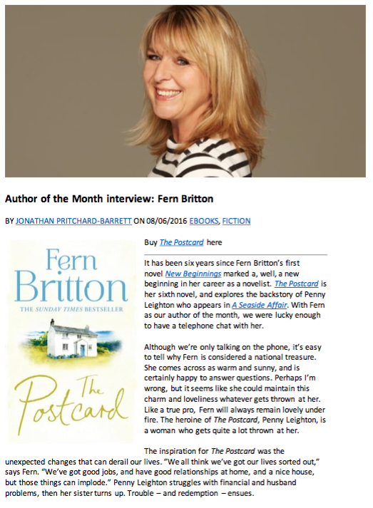 Fern Britton interview - png